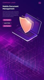 Online beveiligingsgarantie sjabloon