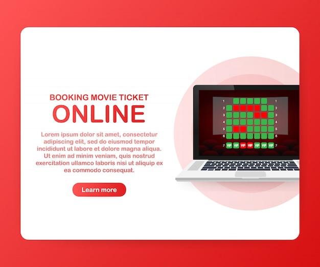Online bioscoopkaartje ingtemplate