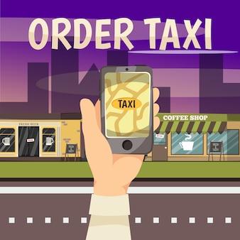 Online boeking diensten concept