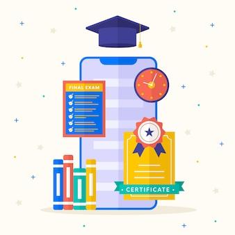 Online certificering met smartphone