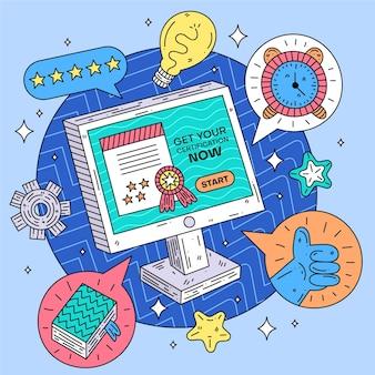 Online certificering voor afstuderen