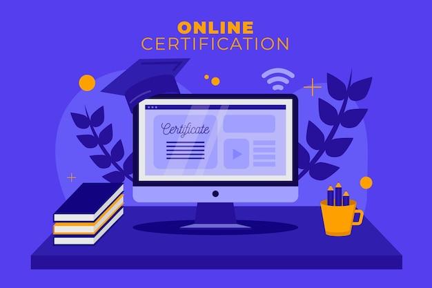 Online certificering