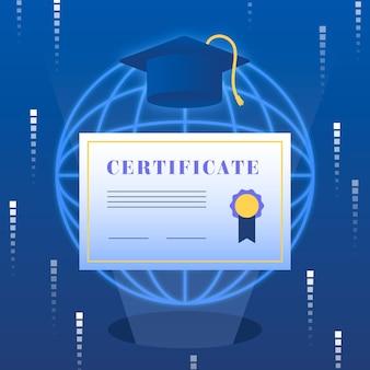 Online certificeringsconcept