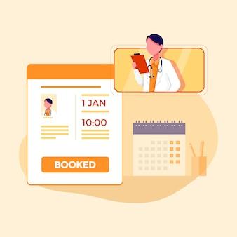 Online consult huisartsen service