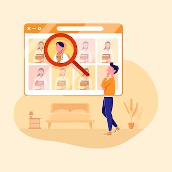 Online consult voor een arts