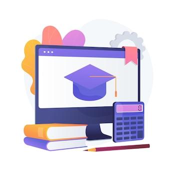 Online cursus wiskunde. afdeling economie, internetlessen, boekhoudlessen. boekhouding en wiskunde leerboeken digitaal archief.