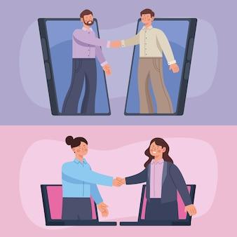 Online deals voor zakenmensen
