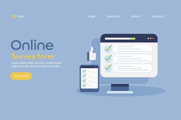 Online enquete