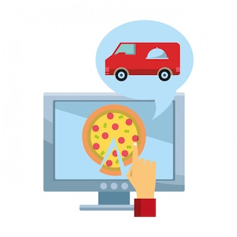 Online eten bestellen en bezorgen