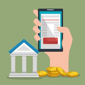 Online geld besparen met smartphone
