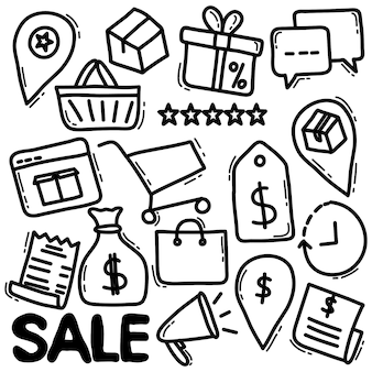 Online kruidenierswinkel doodle