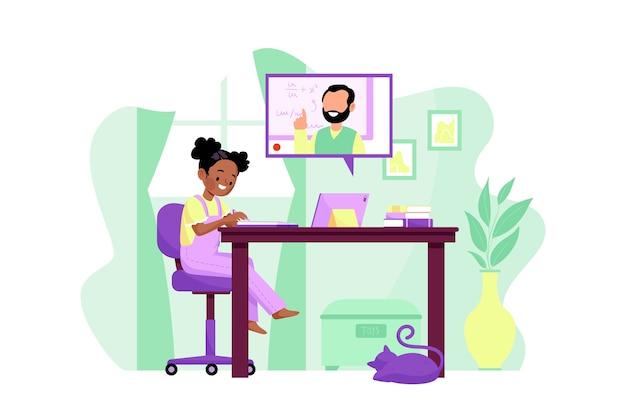 Online lessen voor kinderen