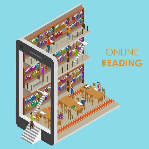 Online lezen isometrisch