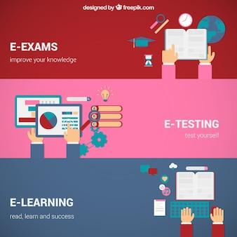 Online onderwijs concepten