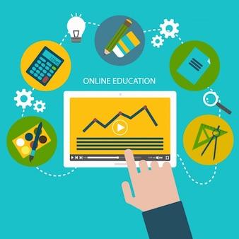 Online onderwijs ontwerp
