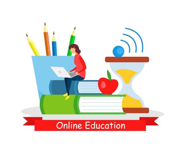 Online onderwijs, zelfstandige