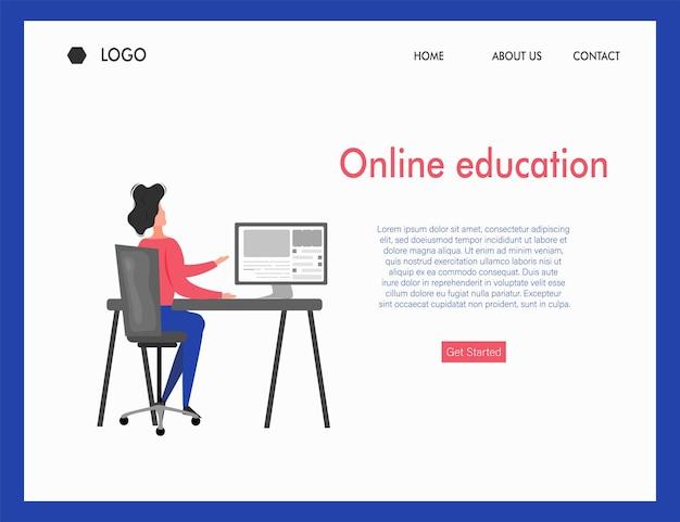 Online onderwijscursus studie uit afgelegen gebied door online toepassing door verschillende apparaten, stylus, laptop en smartphone met internetsignaal op werkstation isometrische weergave vector grafische bannerontwerp.