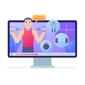 Online persoonlijke trainer