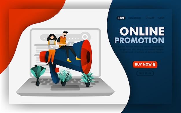 Online promotie, seo en internetmarketing