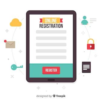 Online registratie