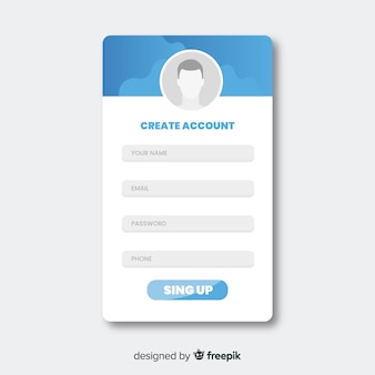 Online registratieformulier