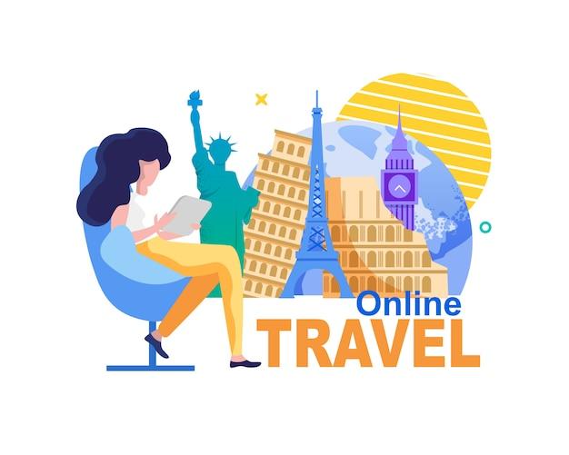 Online reizen