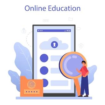 Online service of platform voor cyber- of webbeveiligingsspecialisten.
