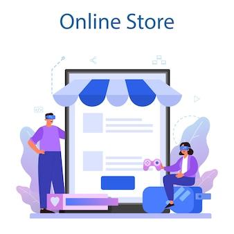 Online service of platform voor game-ontwikkeling