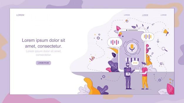 Online technisch klantenservicebedrijf.