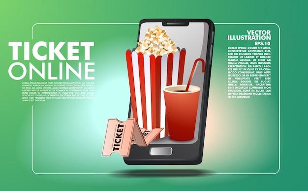 Online ticket boeking sjabloon