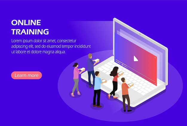 Online training, webinar, videozelfstudies.