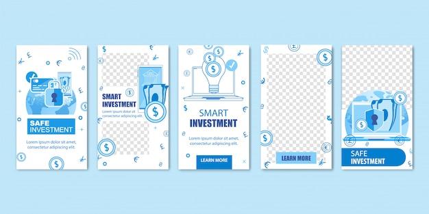 Online veilige slimme investeringen, geld, munten.