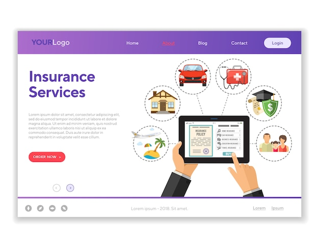 Online verzekeringsdiensten
