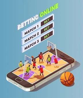 Online wedden op basketbal