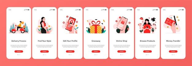 Online winkel-app