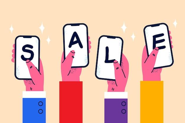 Online winkel- en verkoopconcept