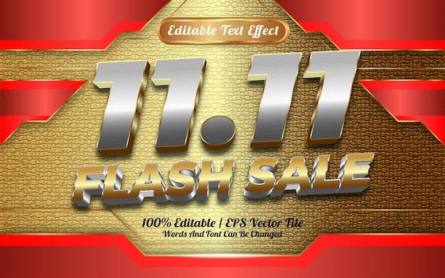 Online winkel flash-verkoop bewerkbare teksteffect sjabloonstijl speciaal gelukkig nieuwjaar 2022