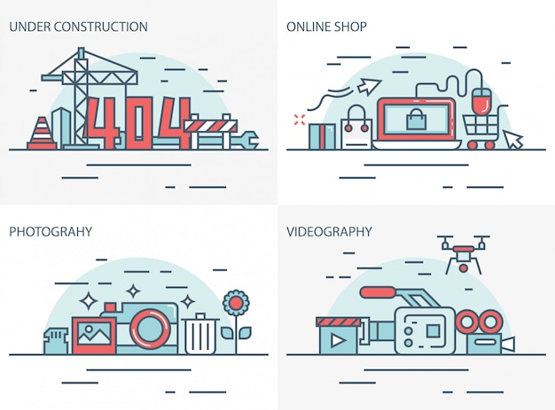 Online winkel, fotografie en videografie