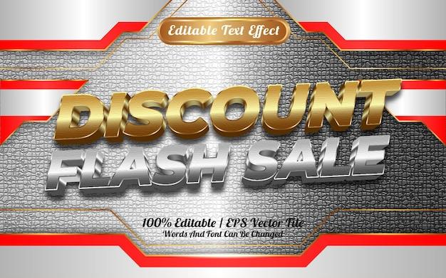 Online winkel korting flash verkoop bewerkbare teksteffect sjabloon stijl speciaal gelukkig nieuwjaar 2022