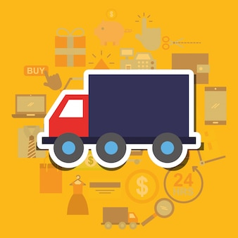 Online winkelen handel