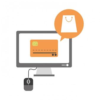 Online winkelen vanaf de computer