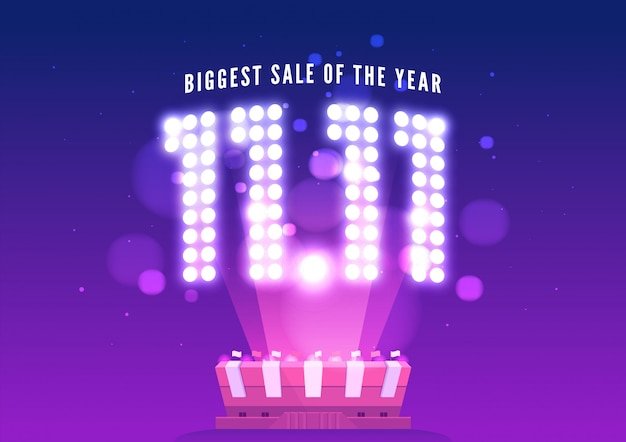 Online winkelen verkoop poster