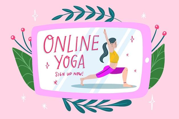 Online yogales ontwerpen