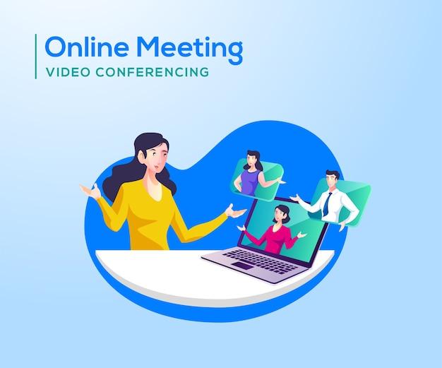 Onlinevergaderingen en videoconferenties