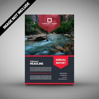Onroerend goed brochure ontwerpsjabloon