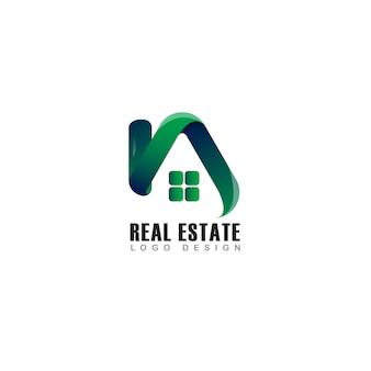 Onroerend goed logo groen