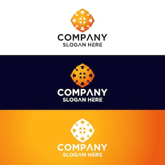 Onroerend goed mandala-logo