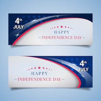 Ons independence day banners