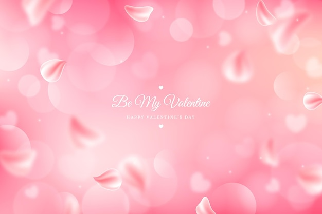 Onscherpe valentijnsdag achtergrond