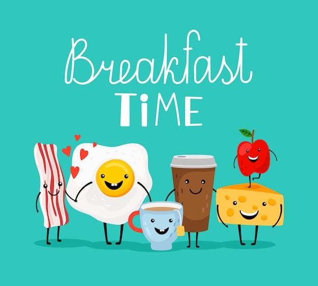 Ontbijt etenstijd